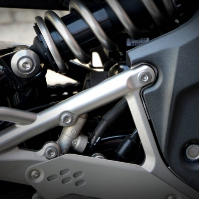 how do motorcycle suspension systems work?